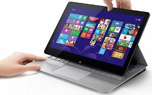 VAIO Fit multi-fip - Dòng laptop vaio mới 2014 ! màn hình lật 180 độ