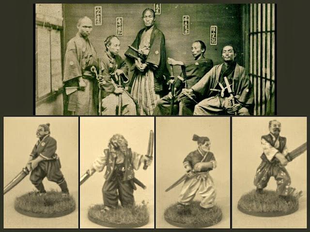 Samurais para Ronin