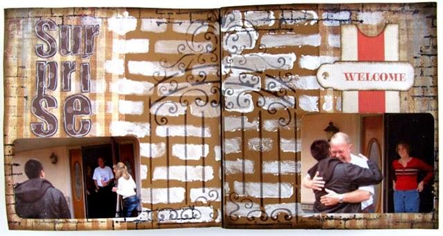 Páginas de Álbum de Viagem – Paloma Scrapbook