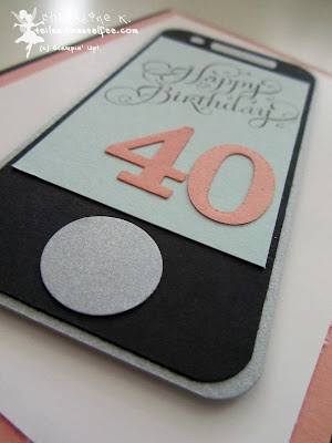 stampin up, smartphone, beautiful birthday, geburtstag, envelope punch boart