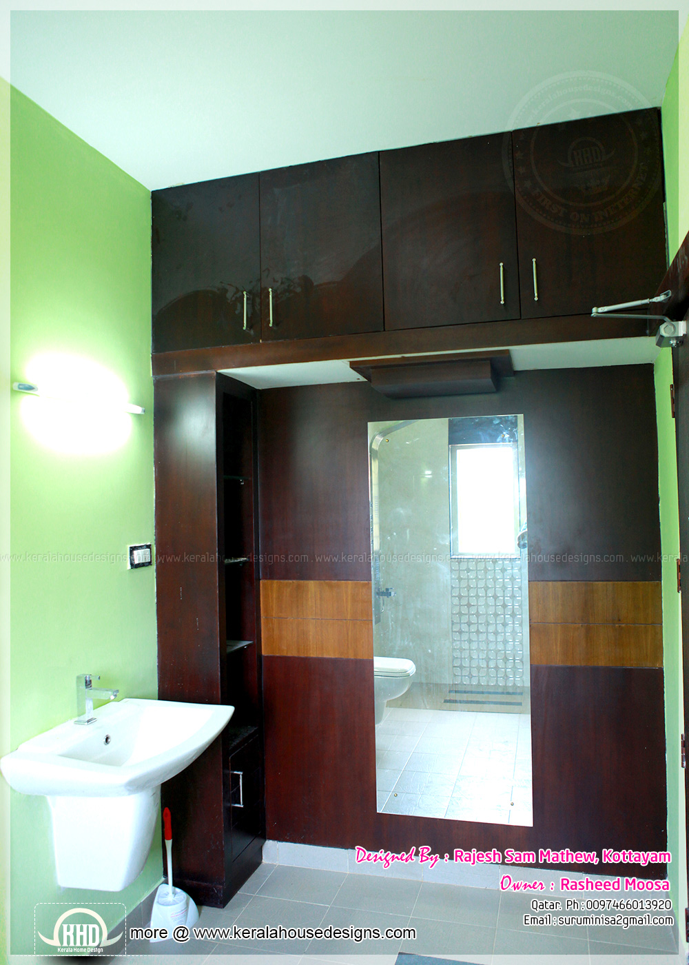 Wash area for Bathroom designs kerala style