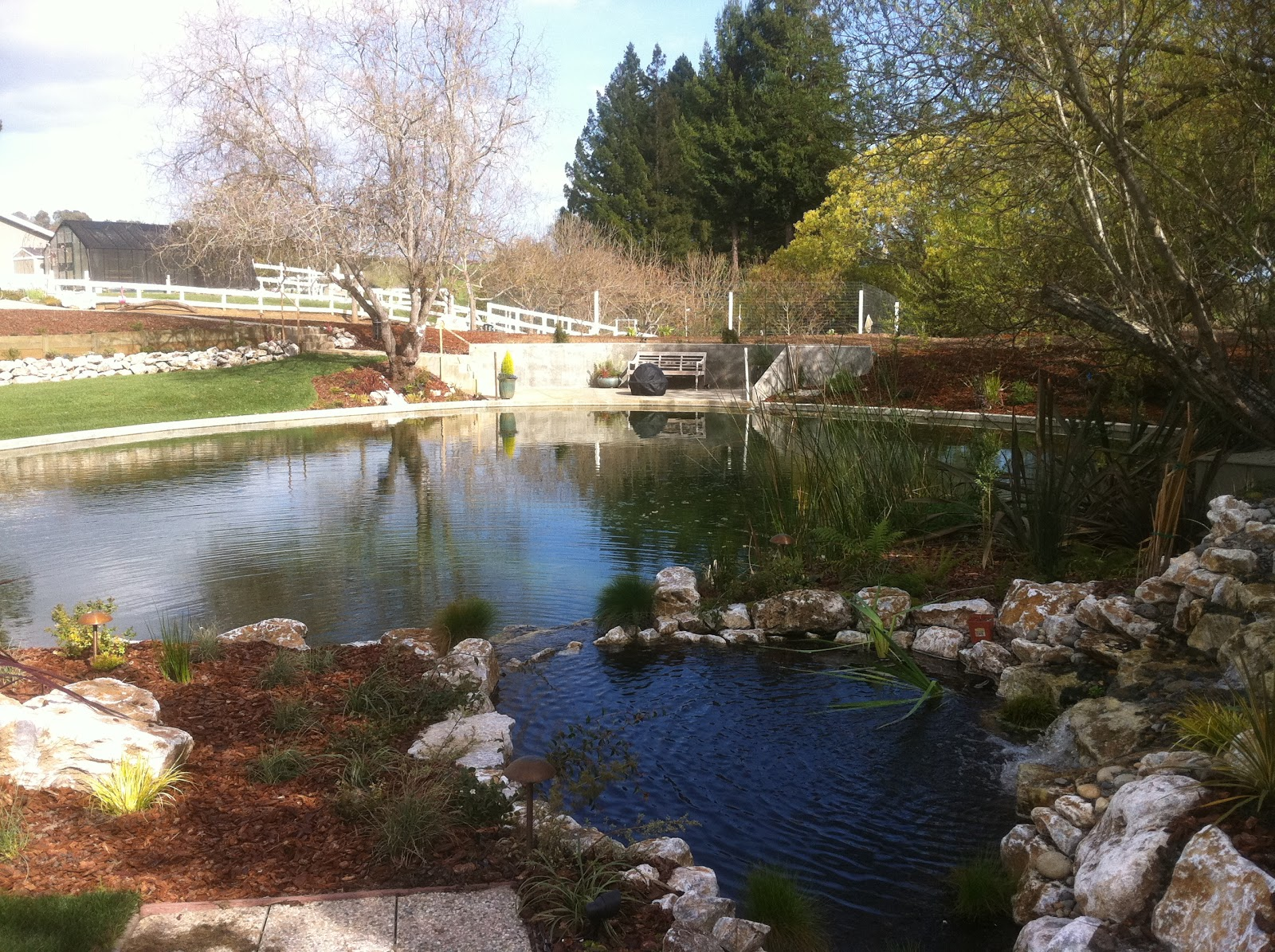 Living Waters Landscaping Asheville Santa Cruz Landscaping Clay