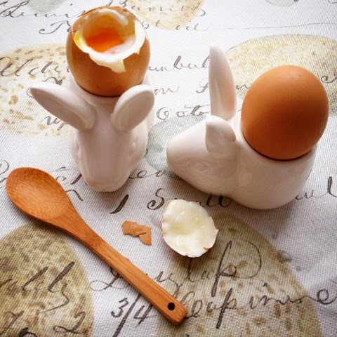 Foodie Quine -  Easter Foodie Treats - Rabbit Egg Cups