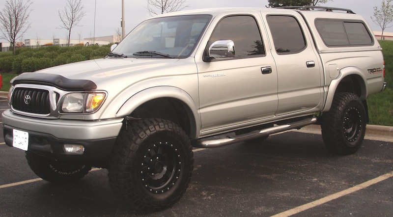 Fs 2001 Ta a Double Cab Limited 4wd Oem Suspension Method Racing Rims Bfg Mts on denali remote start