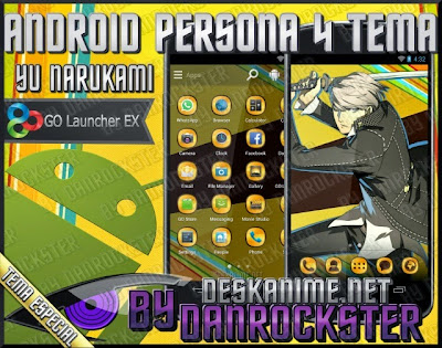 Android Yu Narukami Tema | Desk Anime