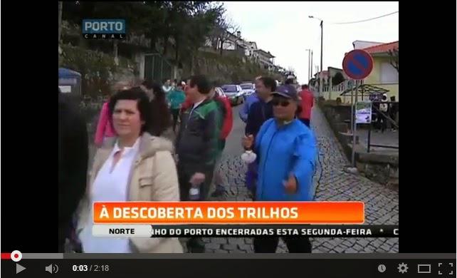 """Vídeo - Voltaram os """"trilhos saudáveis"""" em Lamego - Porto Canal"""