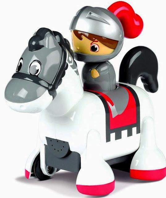 Hình ảnh chàng Kỵ sĩ cưỡi ngựa có âm thanh Clip Clop Knight thật dễ thương