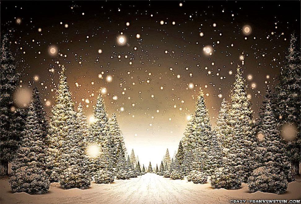 Christmas Snow Scenes Wallpaper | Best Free HD Wallpaper