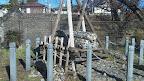 牛枠 洪水時に水の勢いを弱め、堤防の破壊を防いだりるするために、河川に設置される@@@512@@@288