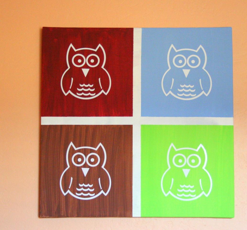 { Babyu0027s Room Owl Wall Art }