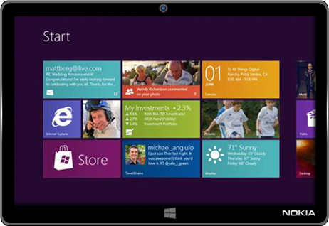 Is Nokia working on Windows 8 tablets