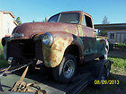 VERY NICE 1952 CHEVY STEPSIDE ARIZONA PROJECT TRUCK HOTROD RATROD CUSTOM