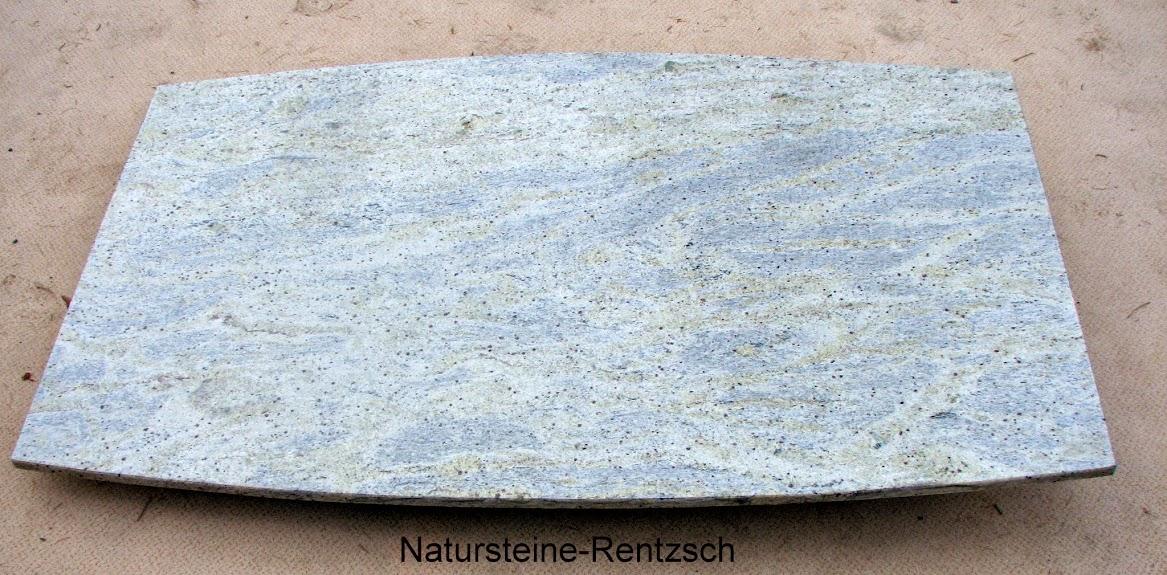 Naturstein tischplatte heller granit kashmir white f for Wohnzimmertisch granit
