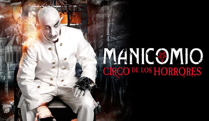 Manicomio. Circo de los Horrores. Oferplan-horrores
