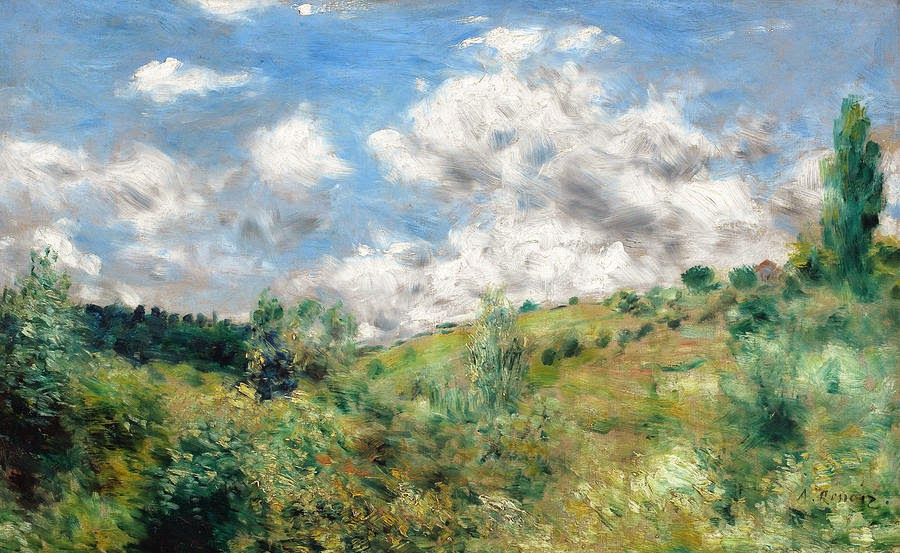 Pierre-Auguste Renoir - Gust of Wind