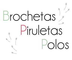 Brochetas, Piruletas y Polos de Jabón