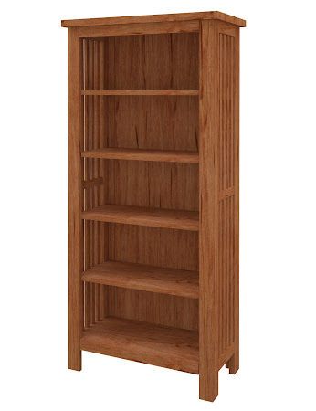 Mission Standard Bookshelf in Vermont Maple