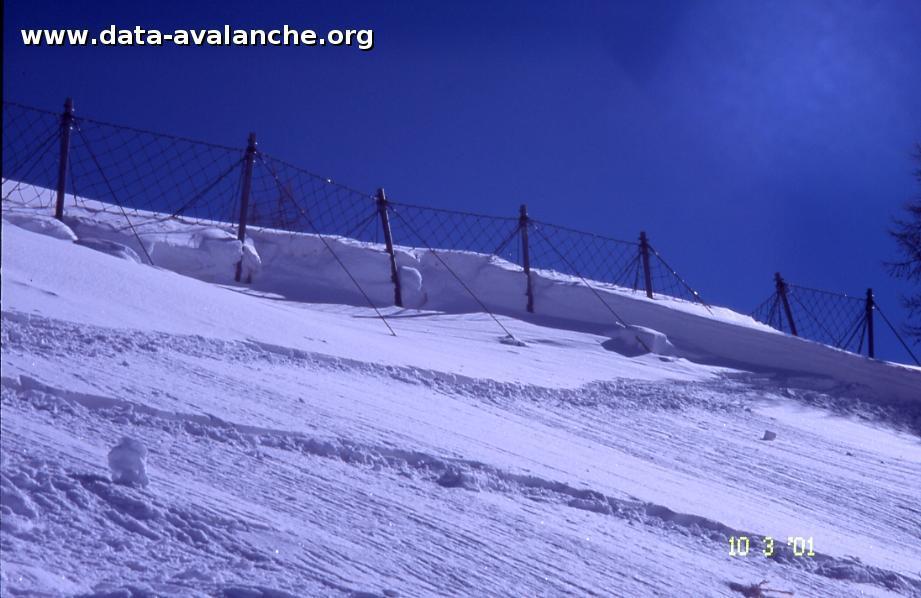 Avalanche Haute vallée de la Susa, secteur Monte Sises, Hors piste Sestrières - Photo 1
