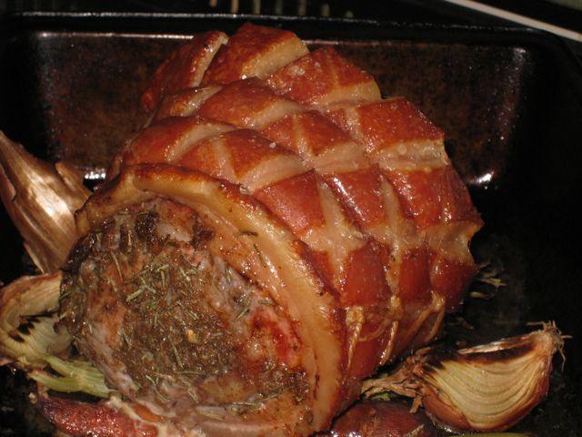 Roast pork boiling water recipe