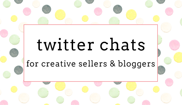 twitter chats for creative sellers and bloggers