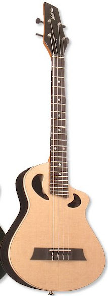 Veillette Merlin custom Guitalele 6 string guitar ukulele