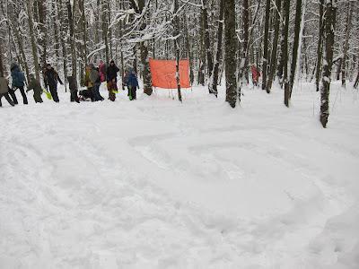 снежный лабиринт