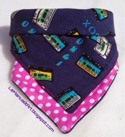 Babero - pañuelo para niños