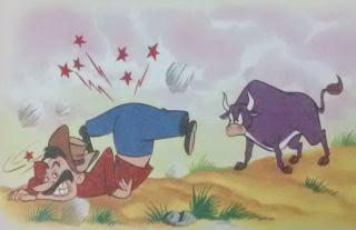 El labrador y el toro