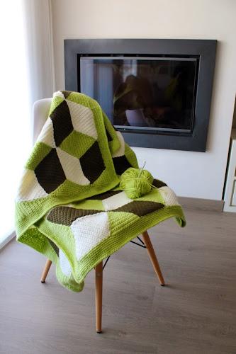 Manta CAL Vasarely Blanket