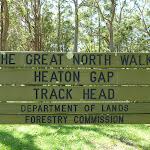 Heaton Gap Track Head sign (358844)