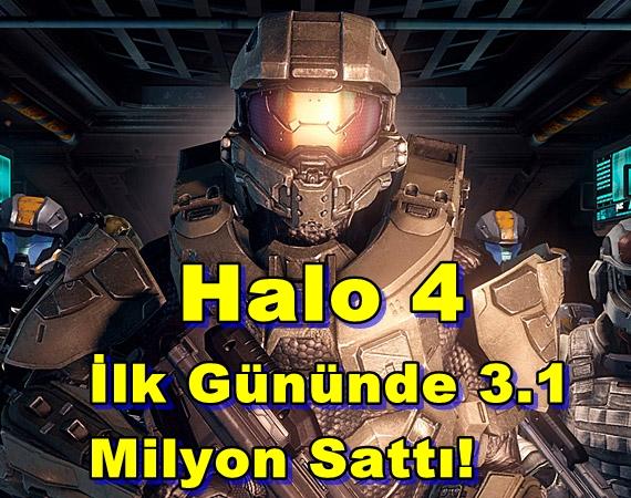 Halo 4 İlk Gününde 3.1 Milyon Sattı!