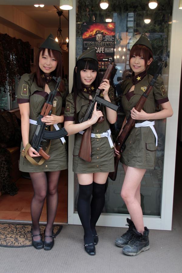 Wargaming mở World of Tanks Cafe tại Nhật Bản 3