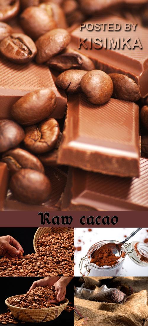 Stock Photo: Raw cacao