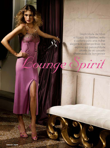 Lounge Spirit, advertorial Alba Lingerie primavera verano 2012