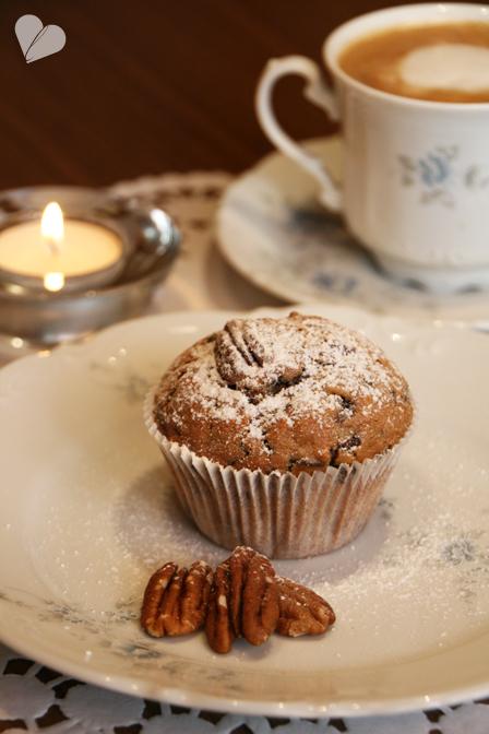 dreierlei liebelei bei muttern ist es eben am sch nsten besonders mit apfel pecan muffins. Black Bedroom Furniture Sets. Home Design Ideas