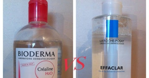 bi bi beautyglam revue soin l 39 eau micellaire effaclar vs cr aline h2o. Black Bedroom Furniture Sets. Home Design Ideas
