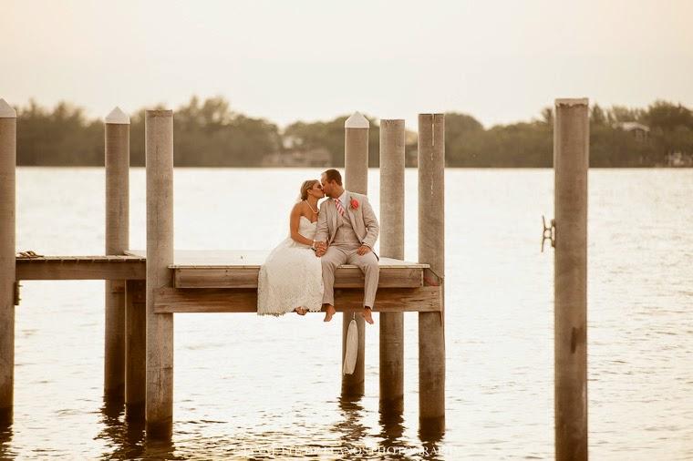 Elegant Florida Keys beach wedding, Key Largo Lighthouse Beach