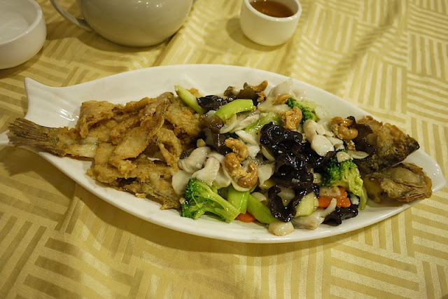 Fish dish in Guangzhou, China