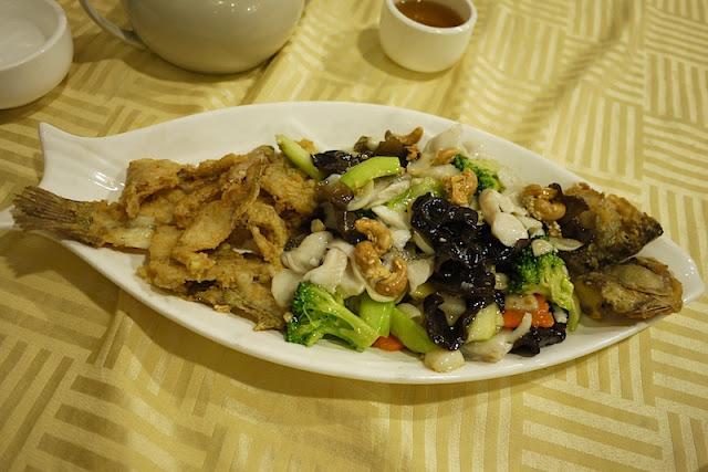 Fish dish in Guangzhou, China