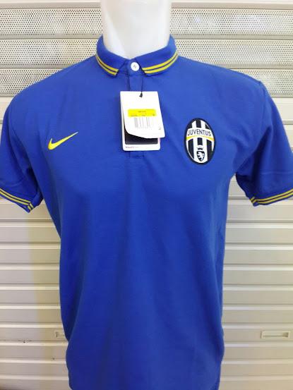 Jual Polo Juventus Biru Terbaru 2014-2015