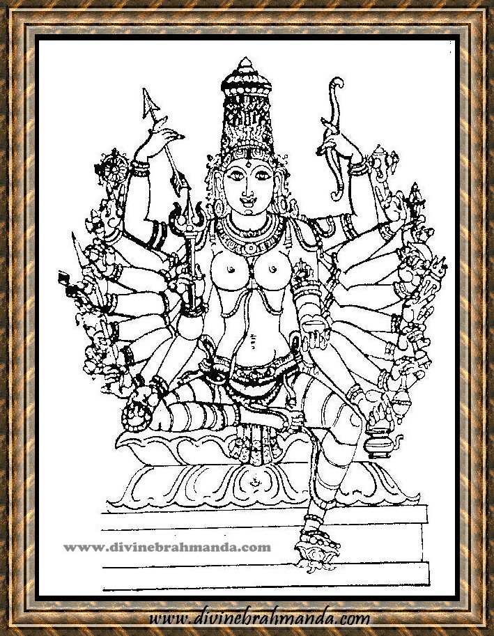 Soundarya Lahari Sloka, Yantra & Goddess For Attainment of all Knowledge - 03