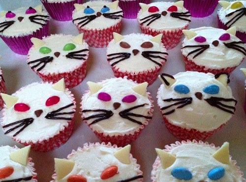 Decorating Cup Cakes Cat Faces | TES Community