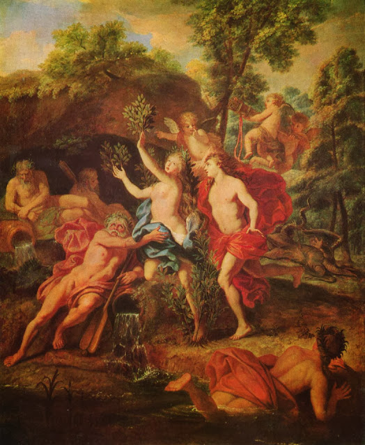Jean-Baptiste van Loo - Apollo and Daphne