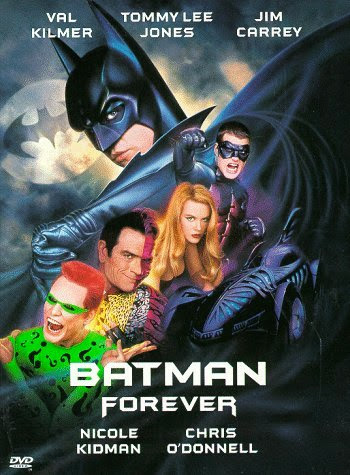 Poster Of Batman Forever (1995) Full Movie Hindi Dubbed Free Download Watch Online At Alldownloads4u.Com