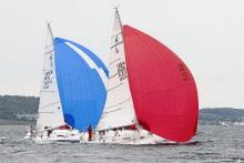 J/105 sailboats- sailing Ugotta Regatta