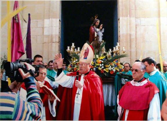 Domingo de Ramos en la Iglesia Colegial Basílica de Santa maría de Xàtiva 2014