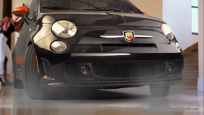 US Fiat 500 Abarth Charlie Sheen Commercial