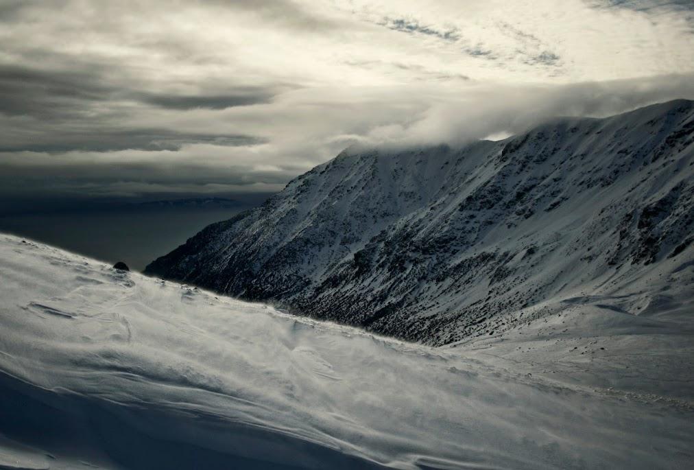 Podejście na Kamienistą z Pyszniańskiej Przełęczy