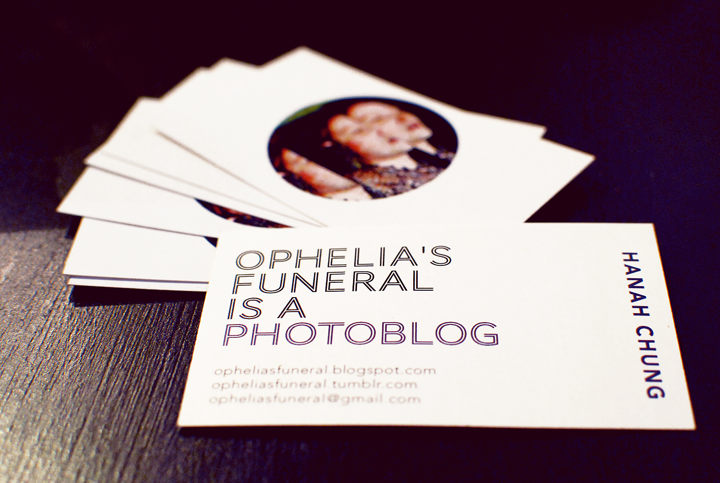 In the meantime, check out my new business cards y'all! Printed and
