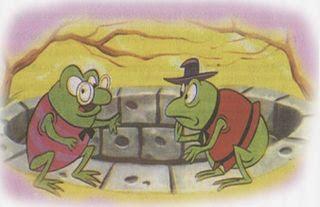 las ranas y el pantano seco una fabula con moraleja